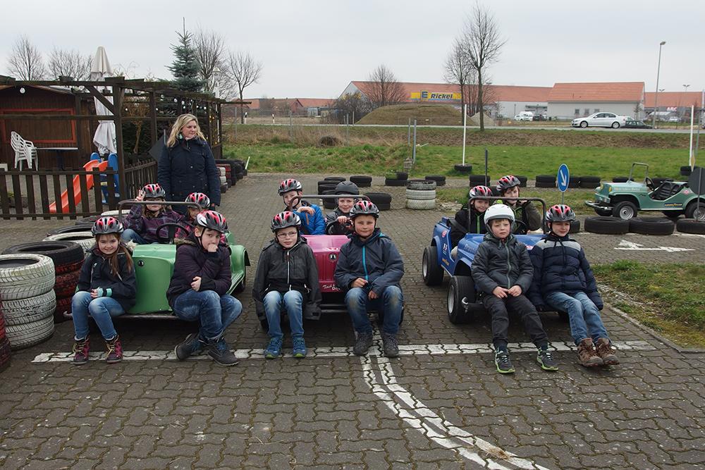 Verkehrssicherheitstraining der Klassen 3 und 4 in Salzgitter-Broistedt