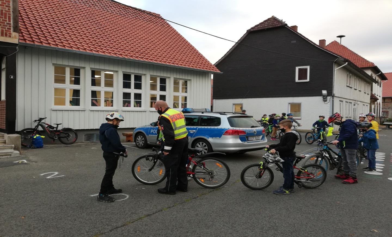 Fahrradprüfung in Jerstedt